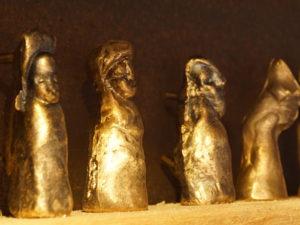 Bronzeguss, Figuren
